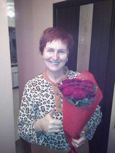 Фото получателя :) #roselife #сюрприз #доставкацветов #подарок