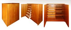 Danish Modern Solid Teak, 6 Drawer Wardrobe Cabinet (Sold)