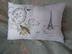 Paris Birds and Butterflies French Address 10 x 8 by Maisonvogue, $15.00