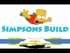 The Simpsons Build For Kodi by DTG & Kodimaster Wizard - YouTube