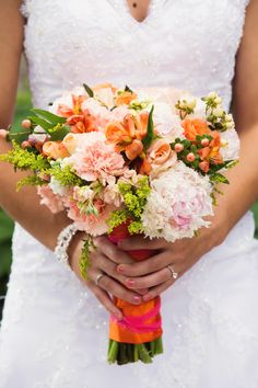 June Wedding Bouquet created by Blossom & Branch Designs, inc.