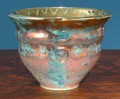 [Iridescent Pottery by Paul J. Katrich, 0662]