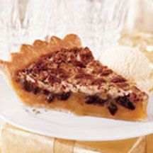 Chocolate Chunk Pecan Pie - This spectacular pie combines the 'traditional' pecan pie with a distinctive chocolate flavor. What a wonderful way to complete a special meal.