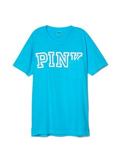 Campus Pocket Tee PINK SC-342-641 (4GN)