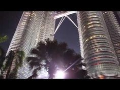Video: Malaysia's Petronas Towers - Caroline in the City Travel Blog Petronas Towers, Kuala Lumpur, Asia, Abstract, City, Artwork, Blog, Travel, Image