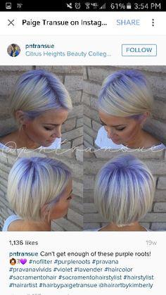 Lavender roots!