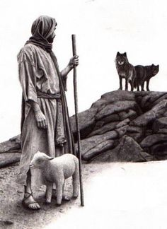 Jesus always protects His sheep from the wolves