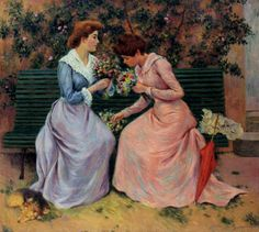 Federico Zandomeneghi, 1888, The Two Bunches - ArtMastered artmastered.tumblr.com450 × 403Buscar por imagen Federico Zandomeneghi, 1888, The Two Bunches --------------------------- federico zandomeneghi paintings - Buscar con Google