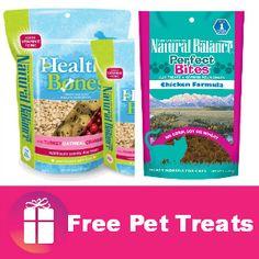Freebie Natural Balance Pet Treats