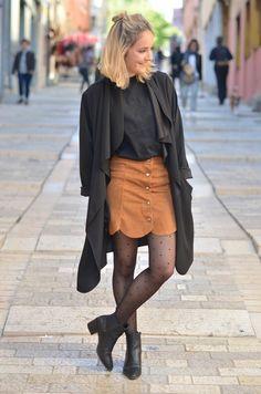 Jupe suédine - Galerie Des Styles & Lookbook De SheIn fr