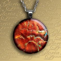 Fused Dichroic Glass Pendant Jewelry Dichroic by GloriaLynnGlass, $26.00