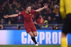 Por obra en solitario de Edin Dzeko, Roma a cuartos de la Champions