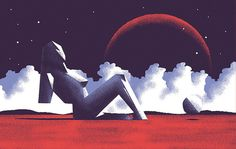 Mars Attacks: Otherworldly illustration series is inspired by the sci-fi genre   Creative Boom