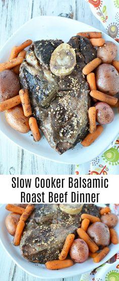 Slow Cooker Balsamic