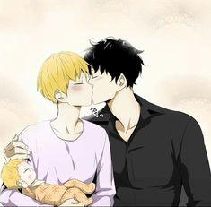 byul is watching 👄😐 Mpreg Anime, Manga Anime, Manhwa Manga, Haikyuu Anime, Manga Art, Manga Love, Anime Love, Anime Guys, Familia Anime