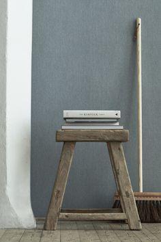 Stil Inspiration - Simple living. Linen wallpaper