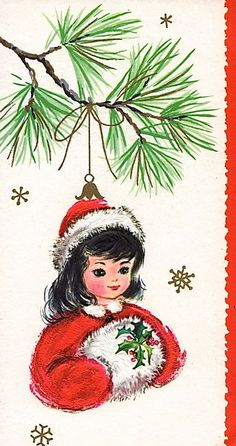 Old Christmas Post Сards — Vintage (528x1000)