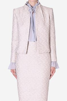 Love the neckline of this jacket