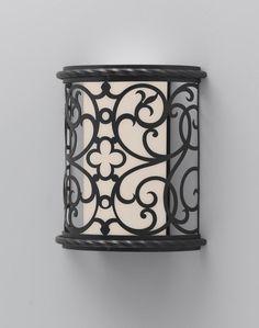 Murray Feiss Costa Del Luz 1 Bulb Black Outdoor ODWB4820BK - LightingAndLocks.com