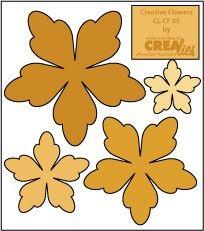 Crealies Flowers #5