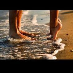 Barefoot on beaches