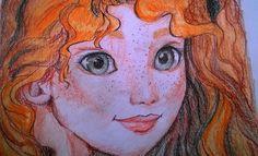 Merida/pencil drawing by Anett