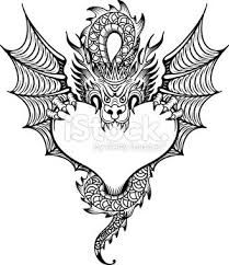 Image result for vector art dragon