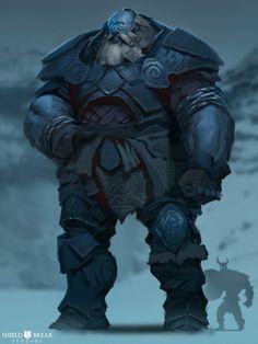 ArtStation - Frost Giant 1 - BIERZERKERS!, Alex Konstad