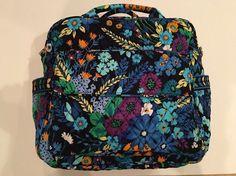 Retired Vera Bradley Convertible Baby Bag in Midnight Blue | eBay