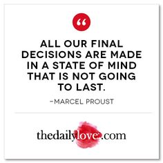 Visual Inspiration: Decisions Are Made