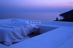 sleeping under the stars at home.  MUST.