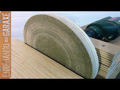 Guía para cortar a 45 grados sin inclinar el disco. Primer prototipo - YouTube