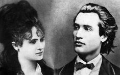 Veronica Micle and Mihai Eminescu Famous Poets, Places Worth Visiting, Dracula, Veronica, Abraham Lincoln, Anton, The Past, Couples, Film