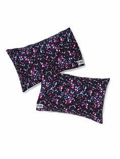 Pillowcase Set JH-324-350 Best. Bedding. Ever. Deck out your dorm room or bedroom with this bright, bold pillowcase set. Only at Victoria's Secret PINK.  Imported cotton