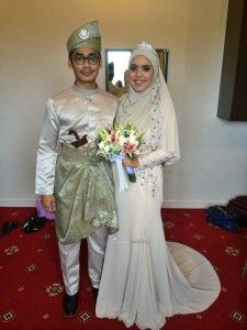 Beautiful wedding wedding hijab indonesia palembang