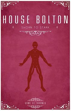 "Game of Thrones - House Bolton #poster I thought their words were ""Our Blades Are Sharp""?"