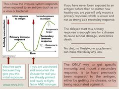 Why we need vaccines even if we are healthy.