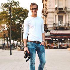 """1,734 kedvelés, 20 hozzászólás – H E N R Y K E T T N E R (@henrykettner) Instagram-hozzászólása: """"""""Szeretem az őszt""""  ✋ @csanyipisti #photoshoot #hair #man #style #photography #glasses #autumn…"""" Normcore, Instagram, Style, Fashion, Swag, Moda, Fashion Styles, Fashion Illustrations, Outfits"""