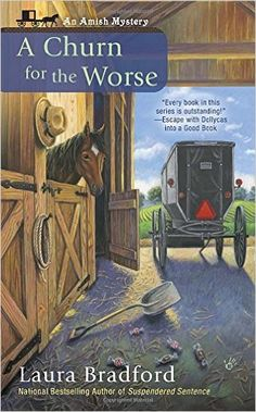 Cozy Wednesday with Laura Bradford - Author of A Churn for the Worse - #Giveaway too!