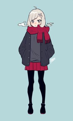 Anime Drawing Styles, Drawing Anime Clothes, Anime Girl Drawings, Cool Art Drawings, Anime Inspired Outfits, Anime Outfits, Girls Characters, Anime Characters, Anime Dress