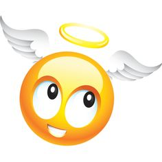 Angel Smiley Copy Send Share Send in a message, share on a timeline or copy and paste in your comments. Smileys, Smiley Emoticon, Emoticon Faces, Stickers Emojis, Emojis Meanings, Emoji Board, Funny Emoji Faces, Emoji Images, Smile Quotes