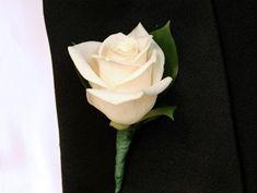 whole sale silk buttoniers | Cream Rose Boutonniere - Rose Boutonniere Canada| Wholesale Cream Rose ...