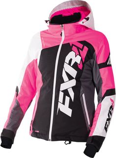 FXR Womens Black/Wineberry/White Tri Revo X Snowmobile Jacket Insulated Snocross Womens Snowmobile Jackets, Snowmobile Gloves, Snowmobile Clothing, Winter Outfits, Cool Outfits, Ski Outfits, Winter Clothes, Country Outfits, Jackets For Women