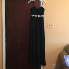 """Selling this """"A black homecoming/prom dress. Worn only once."""" in my Poshmark closet! My username is: bxariaa. #shopmycloset #poshmark #fashion #shopping #style #forsale #David's Bridal #Dresses & Skirts"""