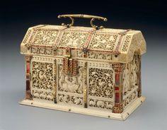 Casket; Sri Lankan, mid to late 16th century