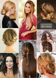 New Year's Eve Hair Ideas