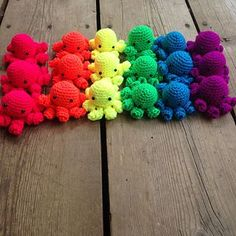 Make It: Crochet Octopus - Free Pattern #crochet #amigurumi #ravelry