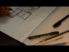 How to draw a house floor plan like an architect.