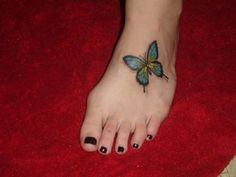 3D butterfly tattoo 15 - 65 3D butterfly tattoos   <3