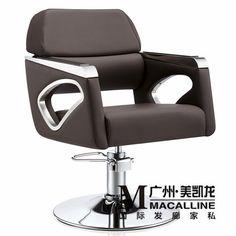 Européenne chaise de coiffure de coupe de bois massif. Luxe italienne salon de coiffure chaise. La nouvelle chaise de coiffure